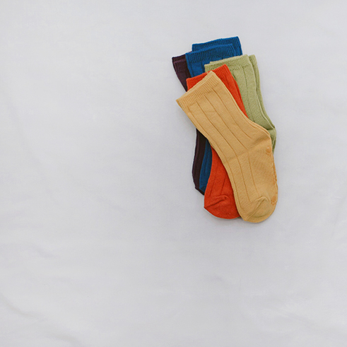 듀듀 - socks  5color = 1set